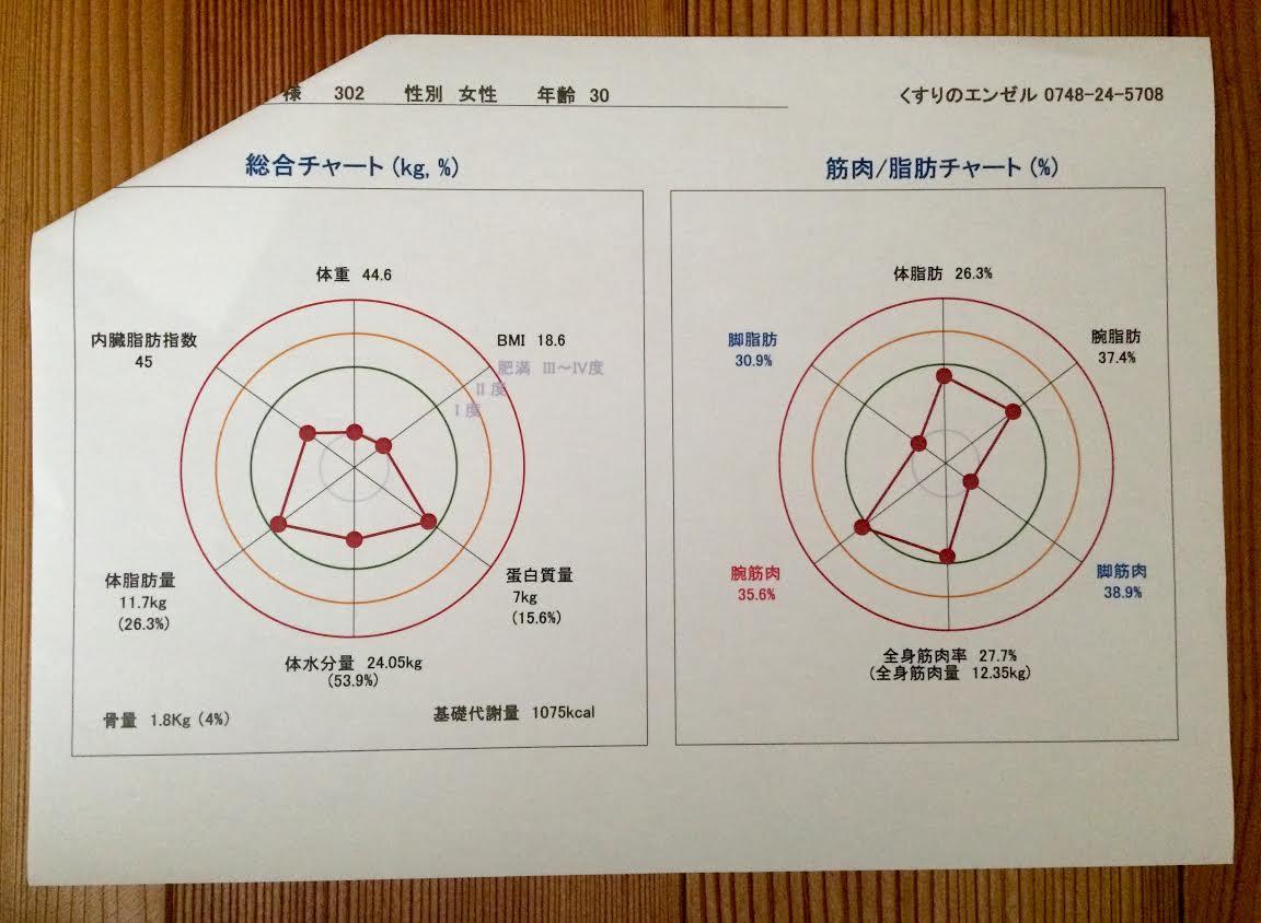 森早美さんゴールチャート